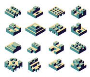 Abstract geometric royalty free illustration