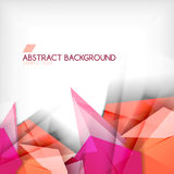 Abstract geometric shape background Stock Photo