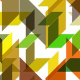 Abstract geometric shape Royalty Free Stock Photos