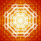 Abstract geometric shape. Royalty Free Stock Photo
