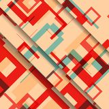 Abstract geometric shape illustration Royalty Free Stock Photography