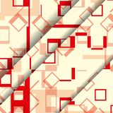Abstract geometric shape illustration Stock Photography