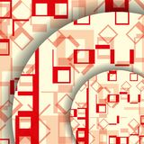 Abstract geometric shape illustration Royalty Free Stock Image