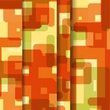 Abstract geometric shape illustration Royalty Free Stock Images