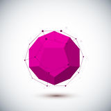 Abstract geometric shape. Vector illustration for your design Royalty Free Stock Image