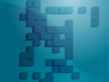 Abstract geometric shapes Stock Image