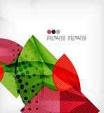 Abstract geometric shapes background Royalty Free Stock Photos