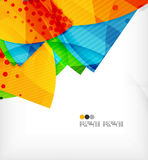 Abstract geometric shapes background royalty free illustration