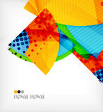 Abstract geometric shapes background Royalty Free Stock Image