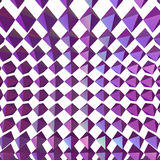 Abstract geometric shapes 3d rendering. In spiral Royalty Free Stock Images