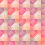 Abstract geometric shapes pattern. Royalty Free Stock Images