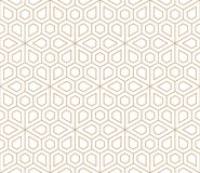 Abstract geometric simple floral grid deco pattern Vector Illustration