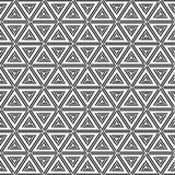 Abstract geometric simple pattern of triangles. Abstract geometric pattern of triangles. Modern stylish texture. Repeating geometric tiles. Fashion design Stock Photo