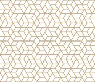 Abstract geometric simple trendy grid deco pattern Royalty Free Stock Images