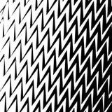 Geometric Simple Zigzag Print, Wave Pattern vector illustration