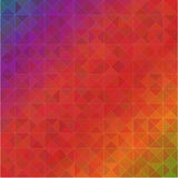 Abstract geometric spectrum background Stock Photos