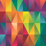 Abstract geometric spectrum pattern background Royalty Free Stock Images