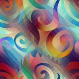 Abstract geometric spirales Stock Images