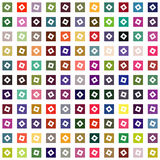 Abstract geometric squares background Royalty Free Stock Photos