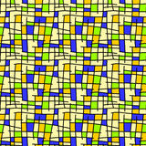 Abstract geometric squares background seamless Royalty Free Stock Images
