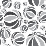 Abstract geometric striped balls pattern. Circular texture Royalty Free Stock Photography