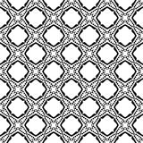 Semless Black dezine White Back ground. Abstract geometric striped triangles seamless pattern in black and white, background Printing Laser cut Royalty Free Stock Photos