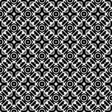 Semless Black dezine White Back ground. Abstract geometric striped triangles seamless pattern in black and white, background Printing Laser cut Royalty Free Stock Image