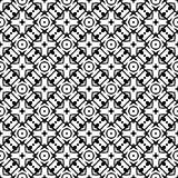 Semless Black dezine White Back ground. Abstract geometric striped triangles seamless pattern in black and white, background Printing Laser cut Royalty Free Stock Photo