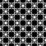 Semless Black dezine White Back ground. Triangles, abstract. Abstract geometric striped triangles seamless pattern in black and white, background Stock Image