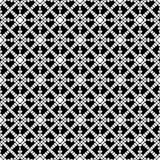 Semless Black dezine White Back ground. Triangles, abstract. Abstract geometric striped triangles seamless pattern in black and white, background Stock Photos