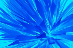 Abstract geometric style blue background Royalty Free Stock Images