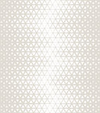 Abstract geometric subtle deco art halftone hexagone and triangle print pattern Royalty Free Stock Photography