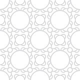 Abstract geometric subtle deco art ornament pattern Royalty Free Stock Photo