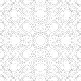 Abstract geometric subtle deco art ornament pattern Stock Photos