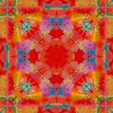Abstract geometric symmetrical fractal pattern. Abstract geometric symmetrical fractal background pattern design vector illustration