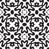 Abstract geometric symmetry modern fashion seamless pattern Royalty Free Stock Image