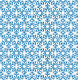 Abstract geometric texture Snow crystal seamless pattern Winter Royalty Free Stock Photography