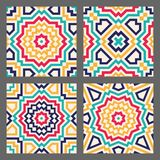 Abstract geometric tile Royalty Free Stock Photo