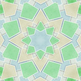 Abstract geometric tiles pattern Royalty Free Stock Images