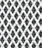 Abstract geometric tiles of rhombus triangle seamless pattern background Royalty Free Stock Photos
