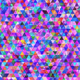 Abstract geometric triangle grunge background Stock Images