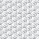 Abstract geometric triangle hexagon seamless pattern. Background, Vector illustration with swatches Stock Photography