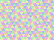 Abstract geometric triangle pattern Stock Images