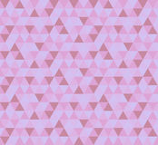 Abstract geometric triangle pattern Stock Image