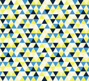 Abstract geometric triangle pattern Royalty Free Stock Photography