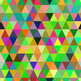 Abstract geometric triangle seamless pattern. Stock Photography