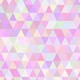 Abstract geometric triangle seamless pattern. Royalty Free Stock Images