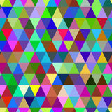 Abstract geometric triangle seamless pattern. Stock Photo