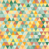 Abstract geometric triangle seamless pattern Stock Image