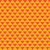 Abstract triangles vintage orange background Royalty Free Stock Photography